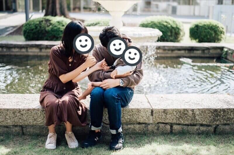 ラブグラフで家族写真を撮ってもらいました