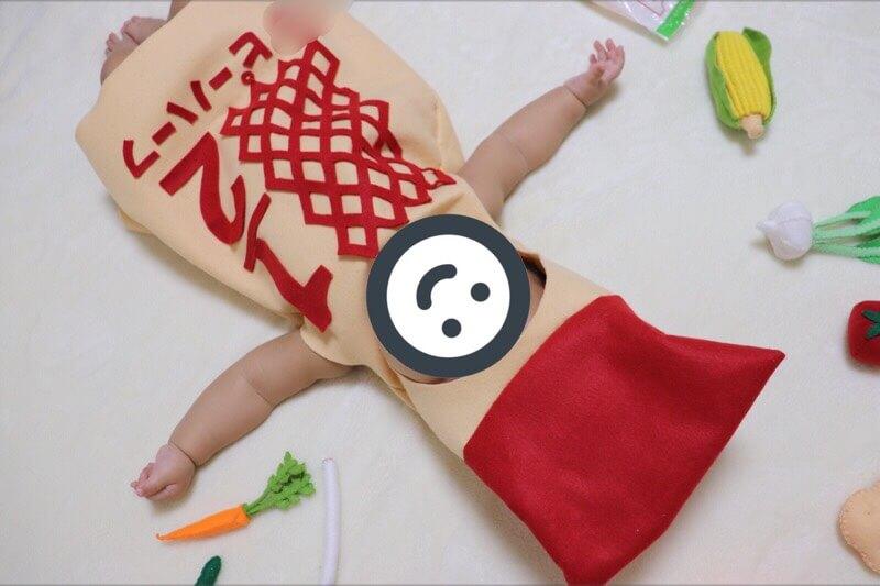 キューピーハーフの着ぐるみの作り方と型紙