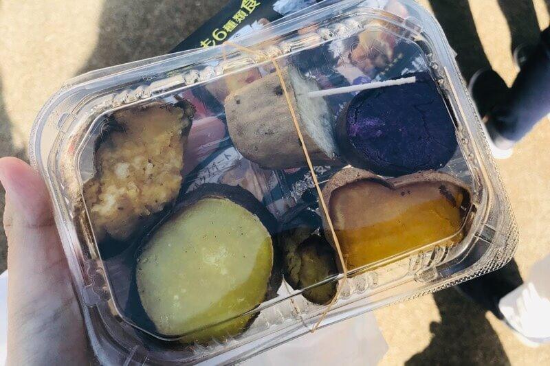 やきいもパーク:焼き芋食べ比べセット