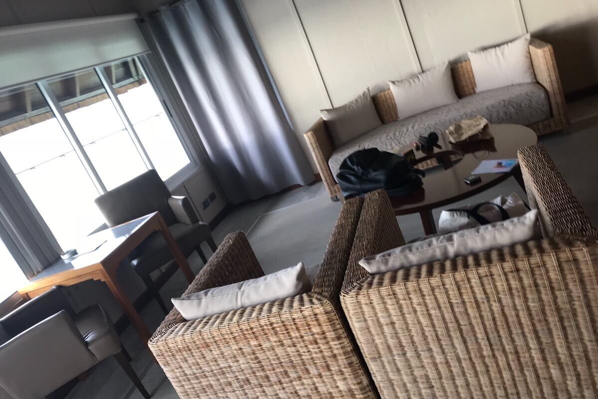 エスカペードアイランドリゾートの客室