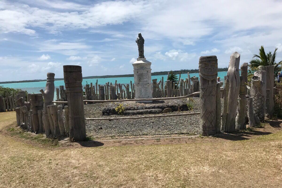 サンモーリスの記念碑