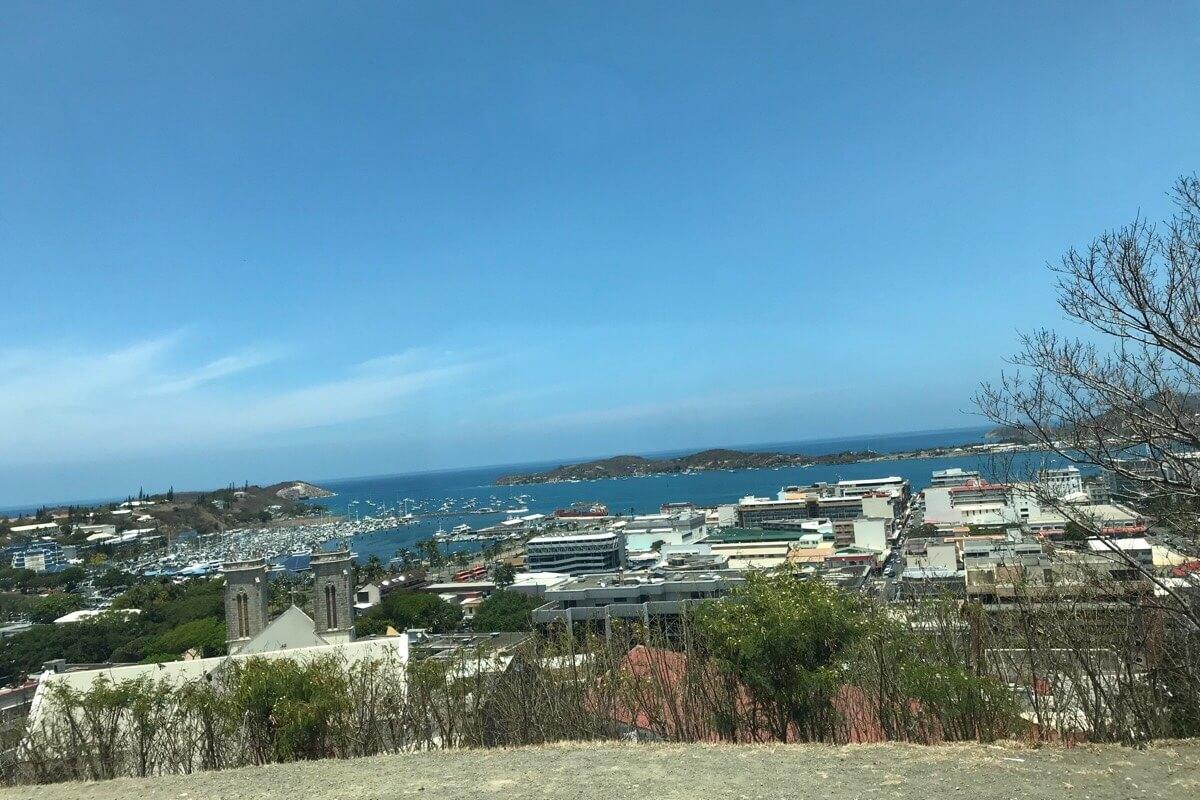 ウァントロの丘からの景色