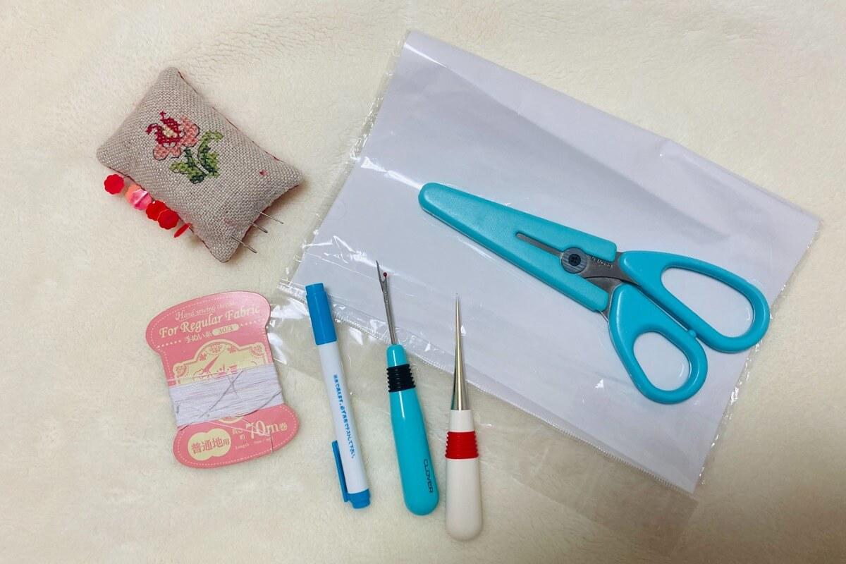 ミシン初心者が揃える裁縫道具