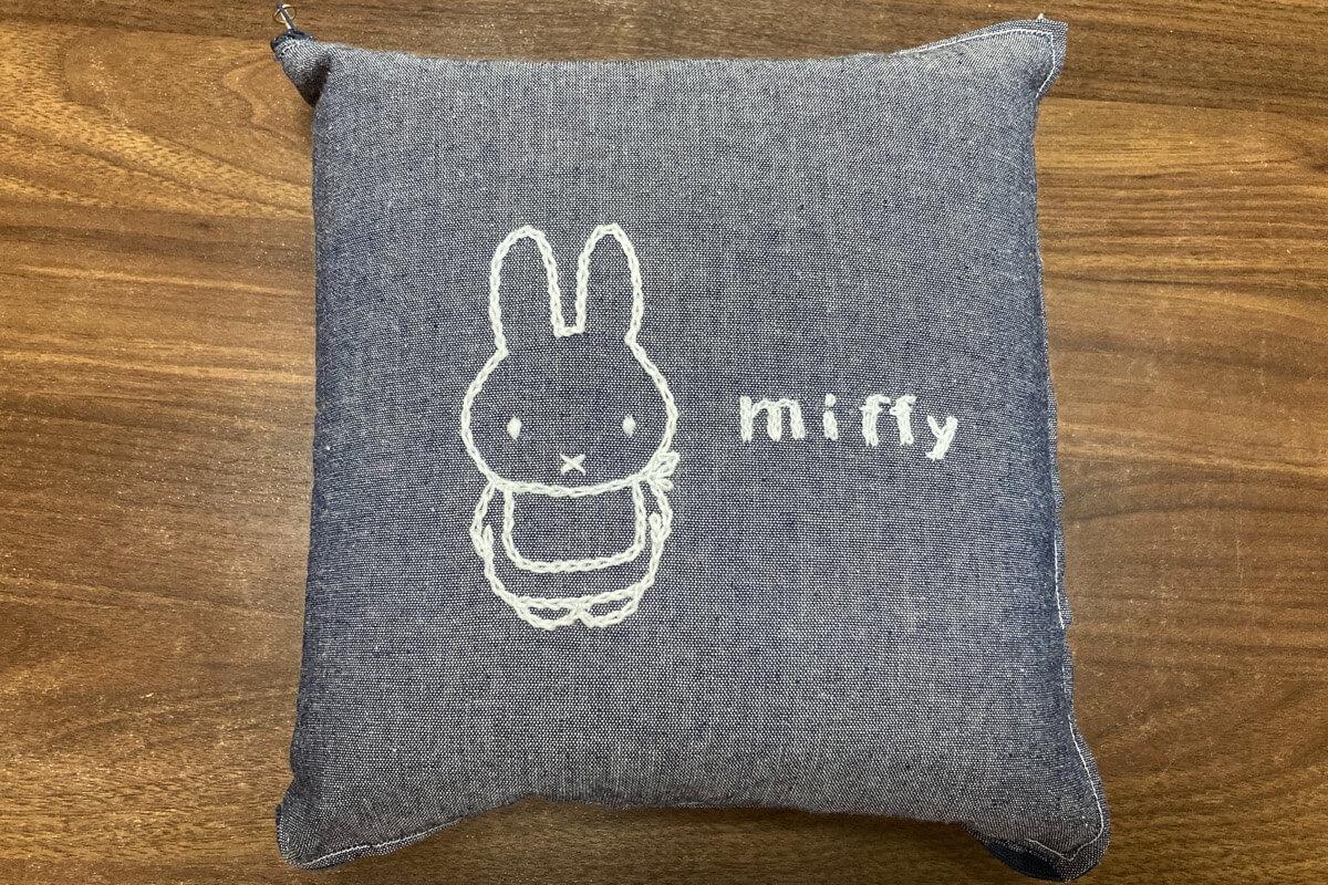 ミッフィーの刺繍