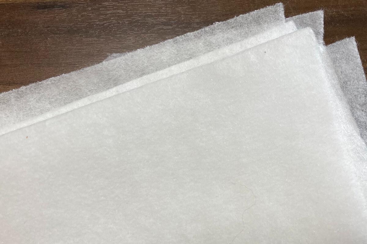布絵本に使うドミット芯