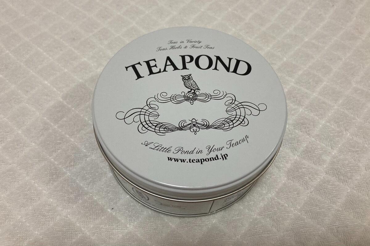 ティーポンドの紅茶缶
