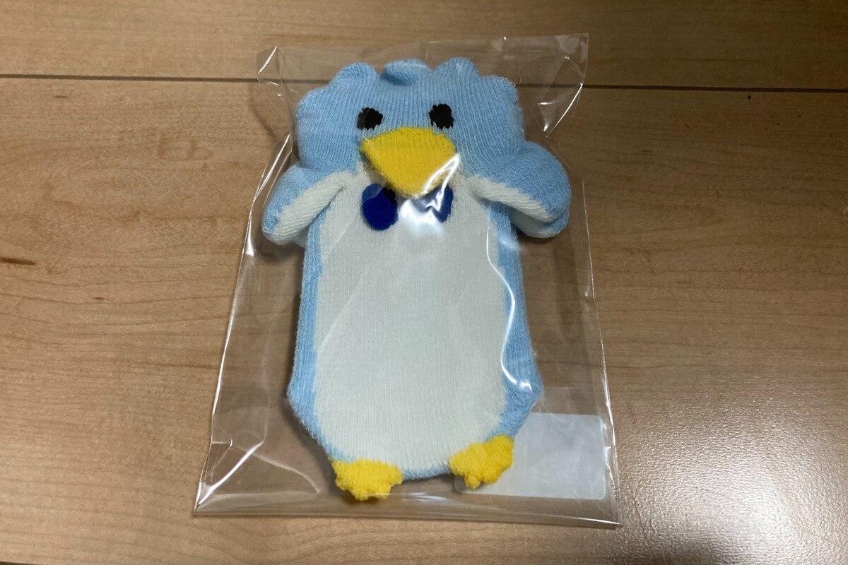 ペンギン立体靴下